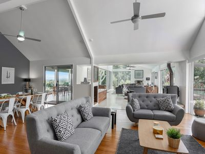 Photo for Serene & Spacious with spectacular views of the Noosa Hinterland