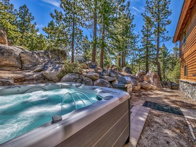 Photo for Mountain Home Close to Casinos, Huge Hot Tub, Foosball Table