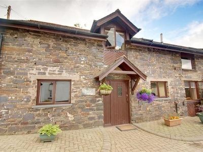 Photo for Converted barn just outside the centre of Swimbridge and close to the beach
