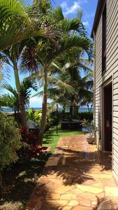 Photo for BEACH FRONT  Estate Guest Cottage w/HEATED Pool Sandy Beach and Hot Springs Spa