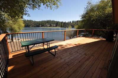 View from back deck,Unit 1 Lot 266, Vacation Rental (Mountain Lakeside Retreat)