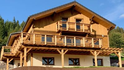 """Photo for LUXURY CHALET """"THE CAROJUL"""" IN GÉRARDMER LAKE VIEW"""