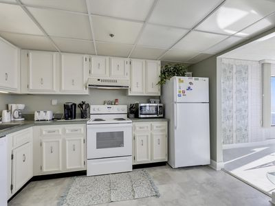 Photo for FREE DAILY ACTIVITIES!!! OCEAN & BAY VIEWS!!! One unit back from oceanfront, spectacular views of both ocean & bay