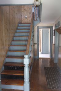 Entrance hallway with stairs
