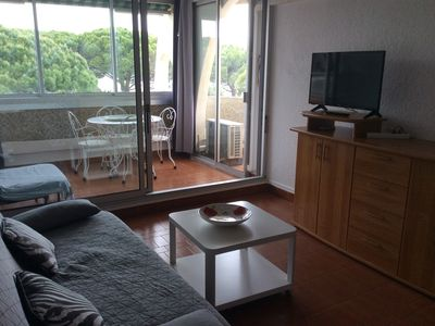 Photo for Air-conditioned studio in Port Camargue - Grau du Roi 300m from the beach