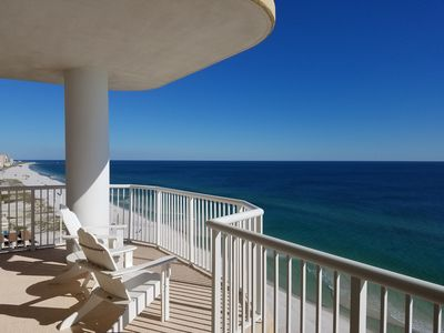Photo for Cindy Lou's Beachfront Penthouse (15th Floor) East Corner Condo in Island Royale