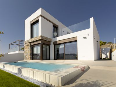 Photo for Modern Brand New 3 bedroom House with Pool, La Finca Golf, great views
