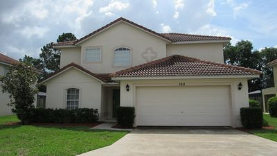 Photo for Mediterranean Style 4/3 Pool Home property in Aldea Reserve. Bright, airy, spacious! (GB160)