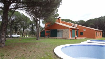 Photo for VILLA WITH PRIVATE POOL AND 17 HECTARE TENNIS COURT