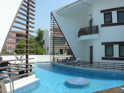 Photo for Dublex apartment with swimming pool in DALYAN