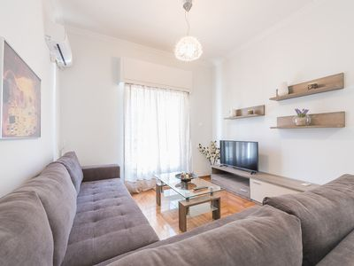 Photo for Bright apt in the heart of Athens