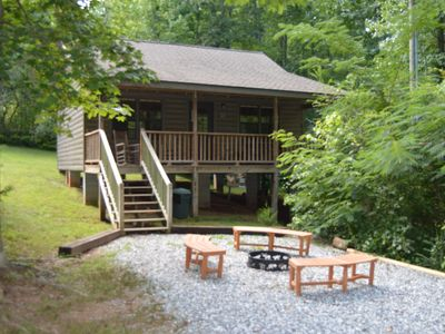 Photo for 2BR Cabin Vacation Rental in Helen, Georgia