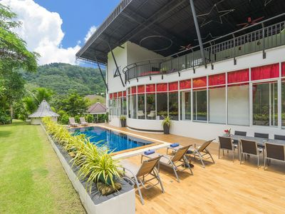 Photo for Open living Villa with Mountain and Big Buddha Views suitable for large families