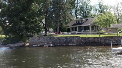Photo for Charming waterfront cabin w/stunning views of Valcour Island