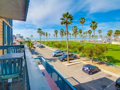 Photo for NEW UPGRADES   Ocean View Family Condo overlooking Belmont Park!