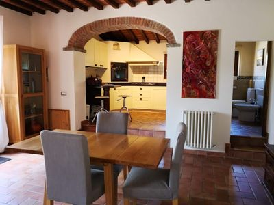 Photo for Luxury apartment with large swimming pool, close to Siena, Florence, Montepulciano