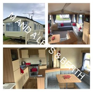 Photo for 8 berth caravan with own private hot tub on Tattershall lakes