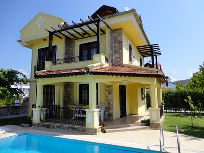 Photo for Villa With Private Pool, barbecue and Garden. Walking distance to the beach.