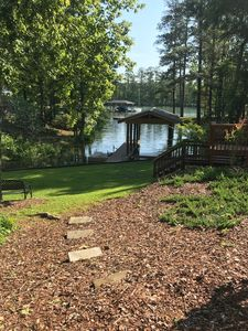 Photo for Beautiful Lake Front, Cottage in Sandy Creek Cove- perfect for families!