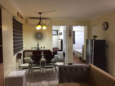 Photo for 2 BR Condo Unit with balcony in Pasig City/Cainta - Seoul Bldg
