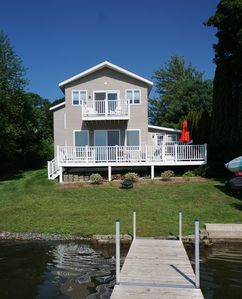 Photo for Berkshire Pontoosuc Lake Beauty Too-Brand new construction on the lake