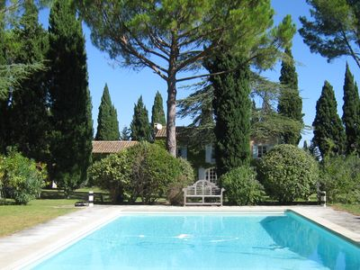 Photo for St Rémy de Provence - Charming family house with large garden and pool