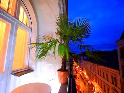 Photo for Raday Eclectic Suite, Art Nouveau , 125 sqm, WiFi, AC,  2 balconies
