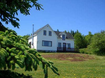 View of Buchanan House from Cabot Trail