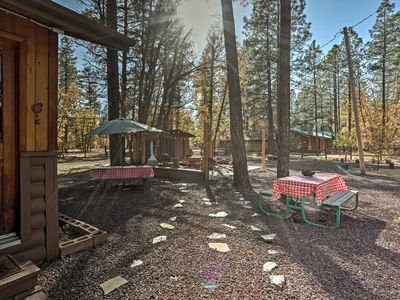 Photo for Cozy Pinetop Cabin w/Patio in Woodland Lake Park!