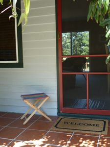 The 'Welcome Mat'   Front Entry