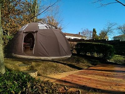 Photo for Camping Pré Fixe **** - Tent Wigwam 2 People
