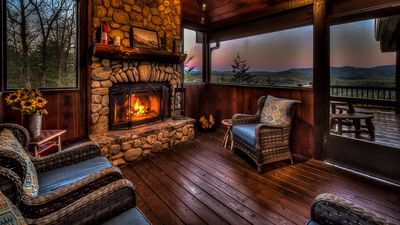 Photo for Amazing Grace- Screened Porch   Panoramic Views   Hot Tub   Outdoor Fireplace