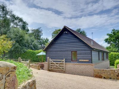 Photo for Detached holiday home in beautiful forest location in Brightling