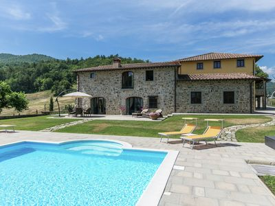 Photo for Luxury borgo with beautiful swimming pool, beautiful view and beautiful garden