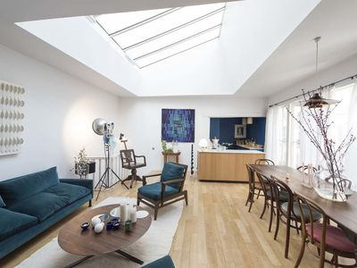 Photo for Vibrant & chic home set in a gorgeous house with patio near Montmartre (Veeve)