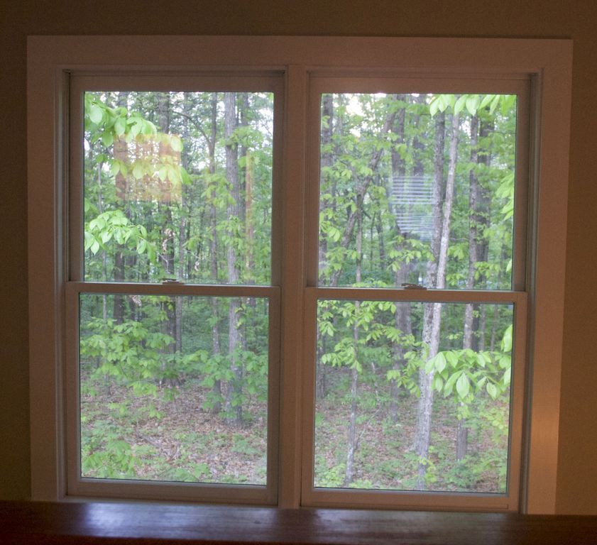 Private two story renovated barn situated on a wooded hilltop.