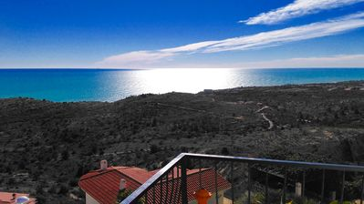 Photo for Villa with stunning views, private pool, bar, barbecue and lounge area