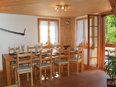 Photo for Vacation home Höfli in Jaun - 6 persons, 3 bedrooms