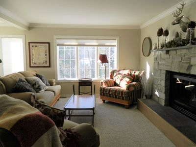 Photo for Luxurious Townhouse at Topnotch Resort & Spa,  Pool, hot tub, AC, 2 min. to MT!