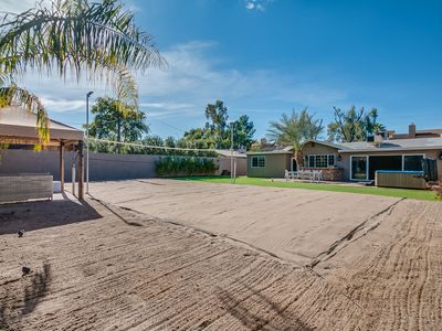Photo for OLD TOWN SCOTTSDALE MAN DEN, VOLLEYBALL COURT, HOT TUB, SHUFFLEBOARD! EVERYTHING!