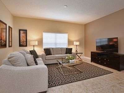 Photo for 2 MASTER SUITES, BBQ GRILL, PS3, PROFESSIONALLY DECORATED, GATED RESORT COMMUNITY!!