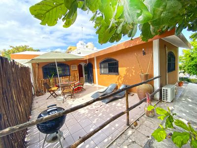 Photo for Enjoy Apartment  Bambu , a great location in town and half block from the Beach