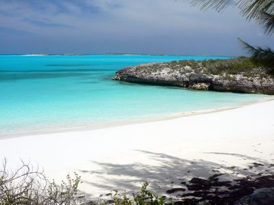 Photo for Exuma Vacation Cottages on the hilltop with water front access, dock & kayaks.