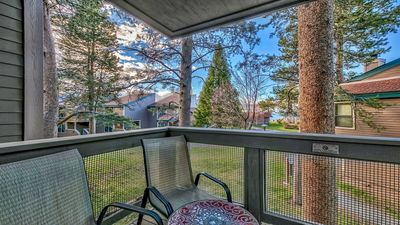 Photo for Spacious townhome with filtered views of Lake Tahoe