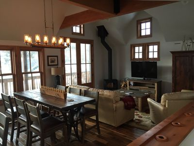 Photo for Great Breckenridge French St. Location.  Recently Remodeled Log Home.