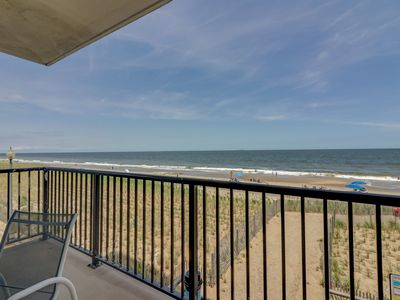 Photo for Gorgeous Ocean Front Condo Downtown Rehoboth Beach