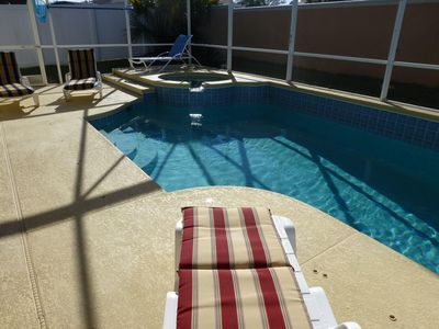 Photo for Private South Facing Pool, Fantastic Family Home, Fully Renovated, 5 Bedroom