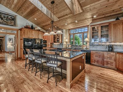 gourmet kitchen with 2 ovens 2 dishwashers 2 microwaves and 10 granite island. Interior Design Ideas. Home Design Ideas