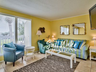 Photo for Beautiful Sunny Unit Overlooking Pool and 9th Golf Hole