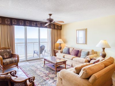 Photo for Crescent Shores Oceanfront Unit 809!  Stunning Condo. Book your get away today!